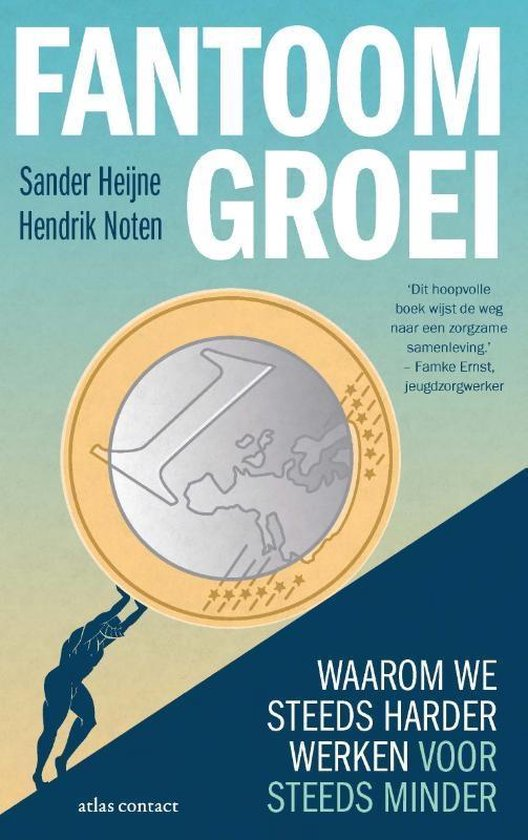 Boek cover Fantoomgroei van Sander Heijne (Paperback)