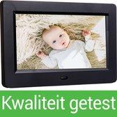 Digitale fotolijst - Soultex Pro® - Digitale fotolijst met USB en Video - Inclusief Afstandbediening - Zwart