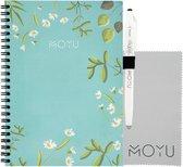 MOYU Ringband A5 (2.0) | Dear Daisy | Uitwisbaar & Herschrijfbaar Notitieboek