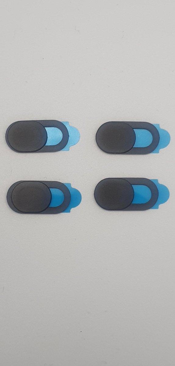8 stuks briljante webcam covers voor mobiel, tablet en laptop - pc accessoires - samsung - apple - webcam covers - camera