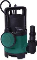 VONROC Dompelpomp/Waterpomp 400W – 8000l/h – Voor vuil en schoonwater – Met vlotter
