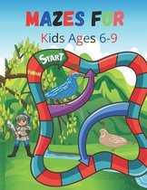 Mazes For Kids Ages 6-9