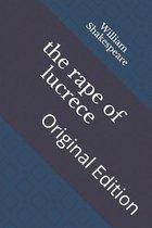The rape of lucrece