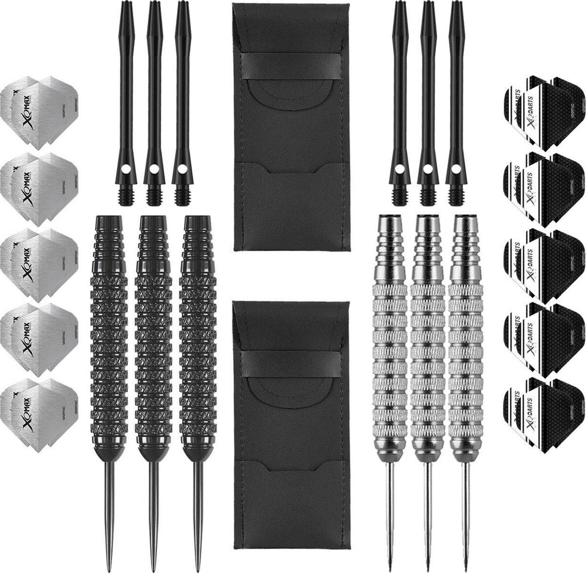 Dragon Darts Ultra Ray dartset 2 sets - dartpijlen - dart shafts - 30 - dart flights - dartpijlen 24 gram - 100% brass