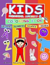 Activity and coloring book for kids (Pre school)