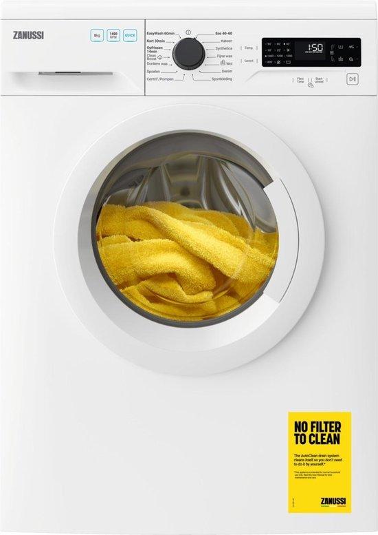 Zanussi ZWFN8430W - CleanBoost - Wasmachine