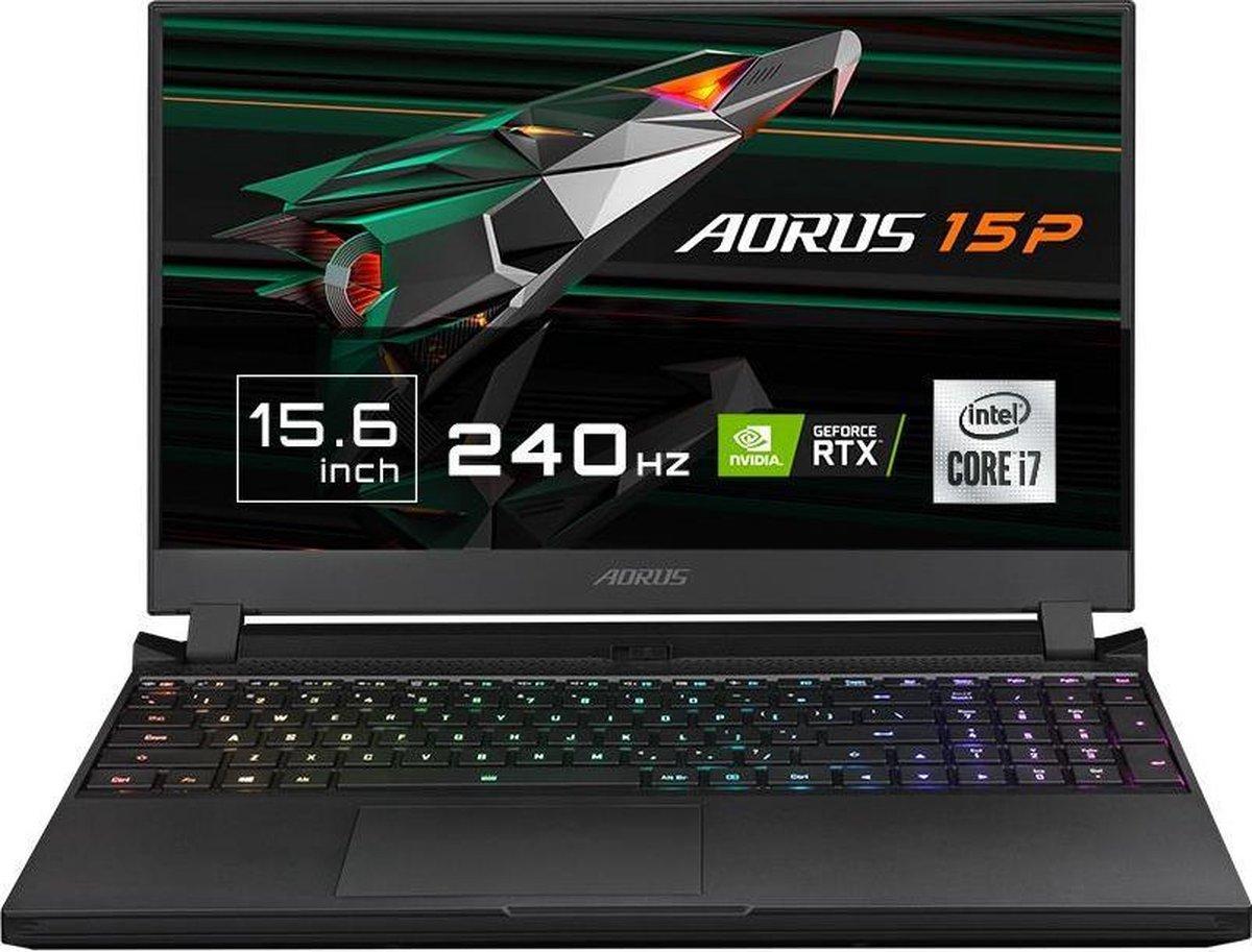 "Gigabyte AORUS 15P KC - Gaming Laptop - NVIDIA GeForce RTX 3060 6 GB - 15.6"" 240Hz FHD - Intel Core i7-10870H - 16 GB RAM - 512 GB SSD PCIe NVMe - Windows 10 Home"