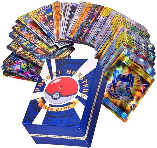 Thumbnail van een extra afbeelding van het spel SunAurora 120 Stuks Pokemon-Kaarten, Pokemon-Ruilkaarten Set met 20 GX Pokemon Kaarten + 50 Mega Pokemon Kaarten + 30 Tag Team Pokemon Kaarten +19 Trainer Pokemon Kaarten + 1 Pokemon Energy-kaart