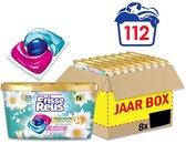 Frisse Reus Power Caps Lotus Amandel Wascapsules - Wasmiddel Capsules - Voordeelverpakking - 8 x 14 wasbeurten
