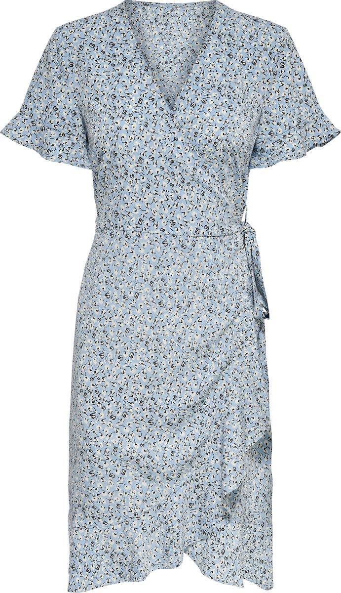 ONLY ONLOLIVIA S/S WRAP DRESS WVN NOOS  Dames Wikkeljurk - Maat 38