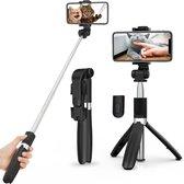 Selfie Stick Universeel - Tripod - 3in1 SelfieStick - Bluetooth - Selfie Stick Tripod - iPhone - Samsung - Selfiestick Universeel