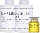 Olaplex Kit - No.4 + No.5 + No.7 - Shampoo - Conditioner en Oil