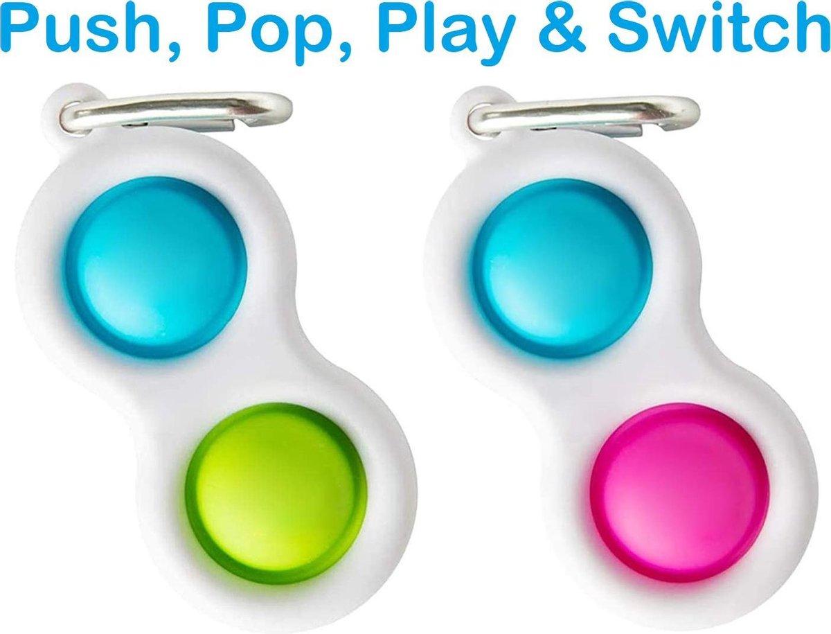 Simple Dimple - Fidget Toys - Duo Pack - 2 stuks