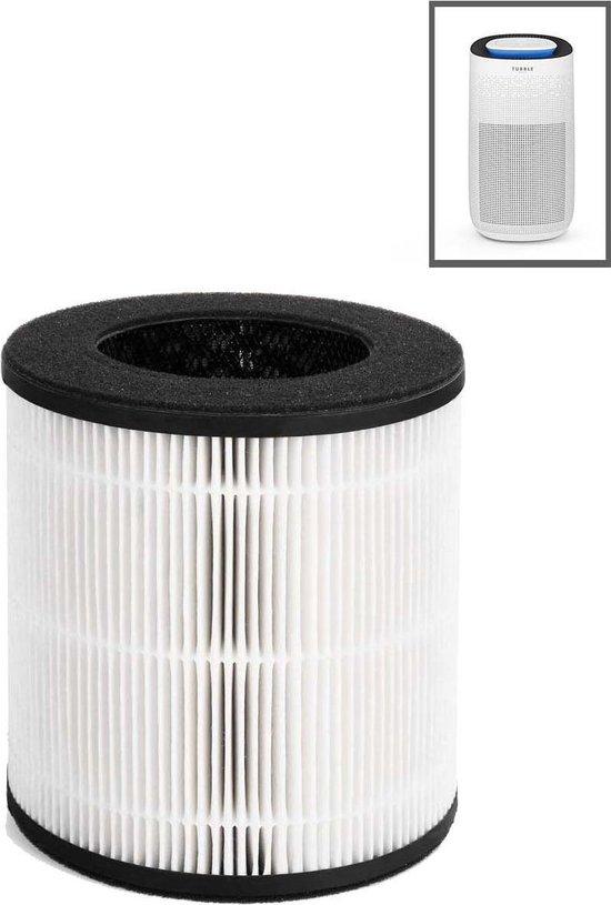 Bol Com Filter Tubble Air Purifier Max True Hepa 360 Filter Technology Carbon Filter