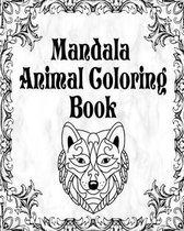 Mandala Animal Coloring Book