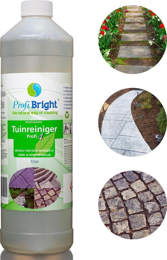 ProfiBright Consument - Tuinreiniger Profi4 - Verwijderd groen aanslag - Concentraat - Dierproefvrij - 1 liter