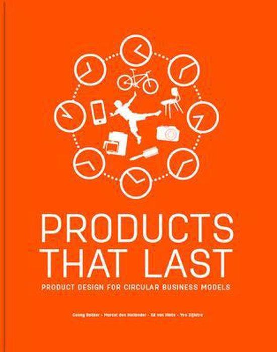 Boek cover Products That Last van Conny Bakker (Paperback)
