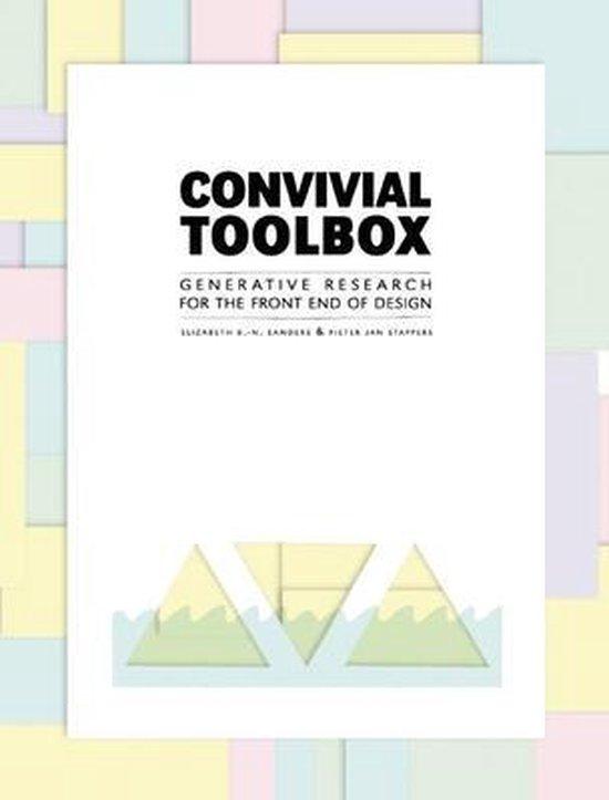 Boek cover Convivial Toolbox van Liz Sanders (Paperback)