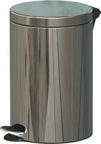 Pedaalemmer Soft Close Freedom Fresh RVS glanzend 12 liter