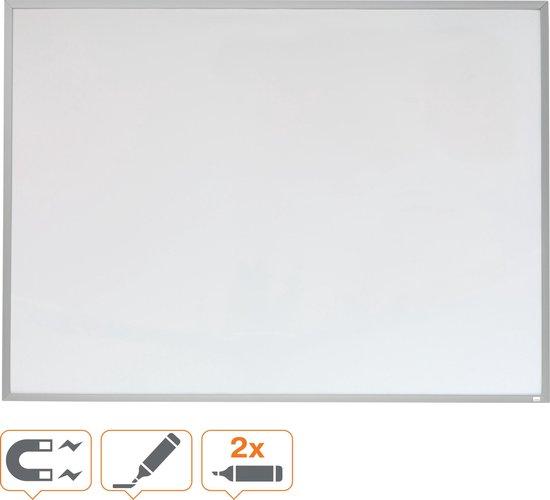 Afbeelding van Rexel magnetisch whiteboard - aluminium lijst - 58,5 x 43 cm