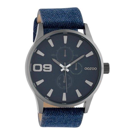 OOZOO Timepieces Blauw horloge C10345 (48 mm)