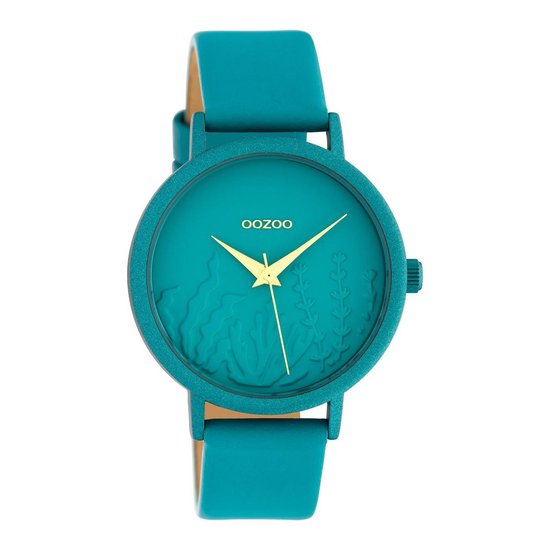 OOZOO Timepieces Blauw horloge C10606