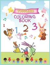 Toddlers Coloring book: Workbook for Toddlers & Kids, 60 Pages, Adorable, Fun and Engaging Preschool Workbook