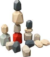 Miekemo| houten bouwstenen voor kinderen | blauw | Speelgoed 2 jaar | Educatief speelgoed | stapelen | houten bouwblokken voor kinderen | leerzaam | speelgoed | blokjes |