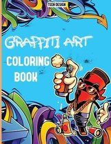 Graffiti Art Coloring Book Pages