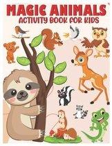 Magic Animals Activity Book for Kids