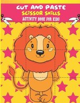Cut And Paste Scissor Skills Activity Book For Kids