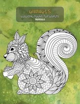Mandala Coloring Books for Adults - Animals