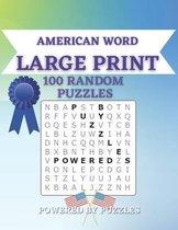 American Word Large Print