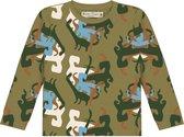 Lange mouwen T-shirt met all over 'Dino' print