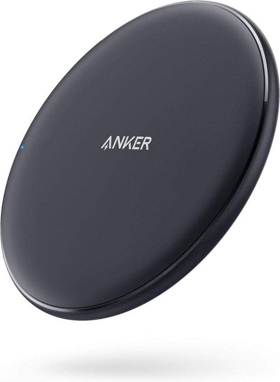 Anker wireless charger Qi Powerwave Pad | 10W Quick charge | draadloze oplader | iPhone & Samsung | iPhone XS Max/XR/XS/8/8 Plus, Samsung Galaxy S9/8/+, Mate 20 Pro