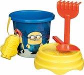 2x Minion Strandset - speelgoed kind strand emmer minion schep hark