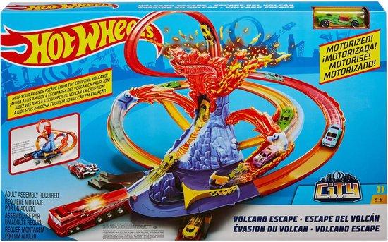 Hot Wheels City  Ontsnap de Vulkaan Speelset
