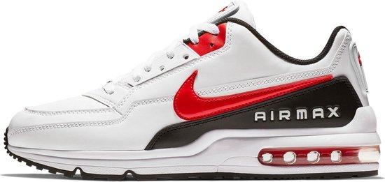 Nike Air Max LTD 3 Heren Sneakers - White/Univ Red-Black - Maat 44.5