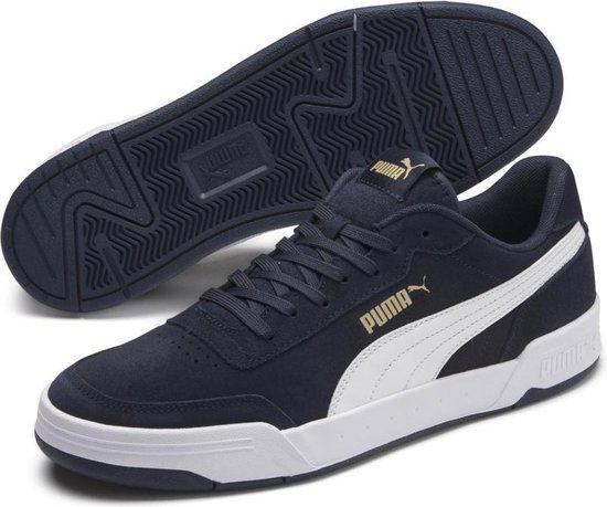 PUMA Caracal SD Sneakers Unisex - Peacoat-Puma White-Puma Team Gold - Maat  40
