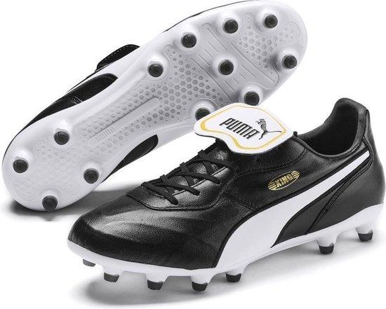 PUMA KING Top FG Voetbalschoenen - Puma Black-Puma White - Maat 45