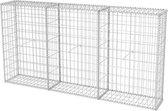 vidaXL Schanskorf 200x30x100 cm staal