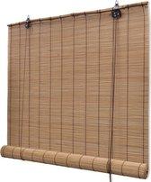 Rolgordijn - 80x220 cm - Bamboe - Bruin