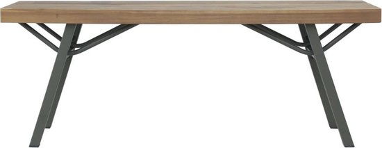 vidaXL Tuinbank 120 cm massief acaciahout