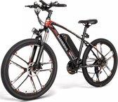 Samebike MY-SM26 - Elektrische Mountainbike - 48V 8AH - 30 Km/h Top Snelheid met bereik van 60 - 80K - Zwart