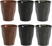 Espresso Kopjes - Espressokopjes - Espresso Glaasjes - Espresso - Set van 6 - Glas - Koffie Kopjes - 90ml