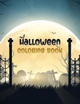 Halloween Coloring Book: Halloween coloring book for kids