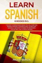 Learn Spanish: 6 Books in 1