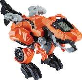 H - VTech Switch & Go Dino's Fire Troy T-Rex - Speelgoed Dinosaurus - Oranje