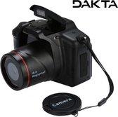 Dakta® Digitale Camera   Vlog Video Camera   Compact Fototoestel   16x Zoom   met LCD Scherm   1080P   16 MP