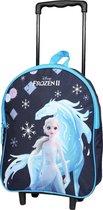 FROZEN Elsa Unicorn Eenhoorn Trolley Rugzak Rugtas School Vakantie Logeren 2-5 Jaar